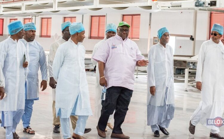 Beloxxi Industries Limited hosts the Committee on Resuscitation of Moribund Industries in Kano State